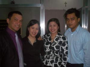 The LFS Law foursome (from left) Atty Arvin Dexter M. Lopoz, managing partner, Atty. Marie Jude Fuentes-Lopoz, supervising partner, Atty. Cheryl S. Sevilleno, senior partner and Atty. John-Christopher T. Mahamud, junior partner.