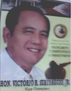 Davao del Norte Vice Gov. Baby Suaybaguio, Jr.