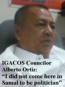 Igacos Councilor Ortiz