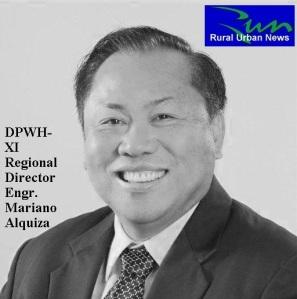 DPWH-XI Regional Director Engr. Mariano Alquiza